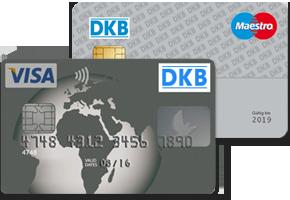 DKB-Visa-Card und DKB-Girokarte