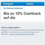 DKB-Club Online Cashback Anbieter Zalando