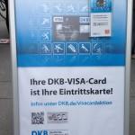 DKB-Visa-Card Eintrittskarte