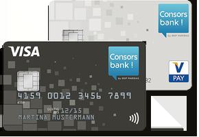 Consorsbank kostenloses Girokonto mit Kreditkarte