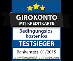 Girokonto mit Kreditkarte Testsieger Direktbanken
