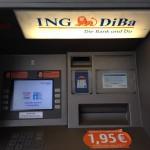 ING-DiBa Bankautomat