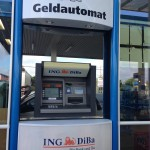 ING-DiBa Geldautomat Tankstelle