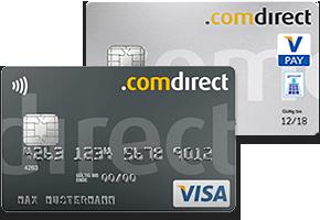 comdirect Visa-Card und Girocard