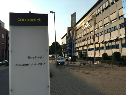 comdirect Filiale Zentrale in Quickborn bei Hamburg