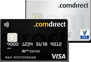 Girokonto mit Kreditkarte comdirect Bank
