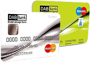 Kostenloses Girokonto mit Kreditkarte DAB Bank