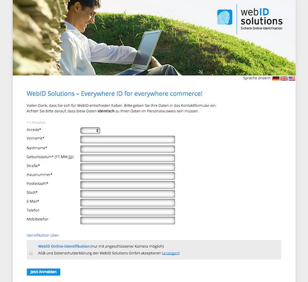 Online-Identifikationsprüfung WebID