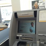 Commerzbank Bankautomat in der Filiale
