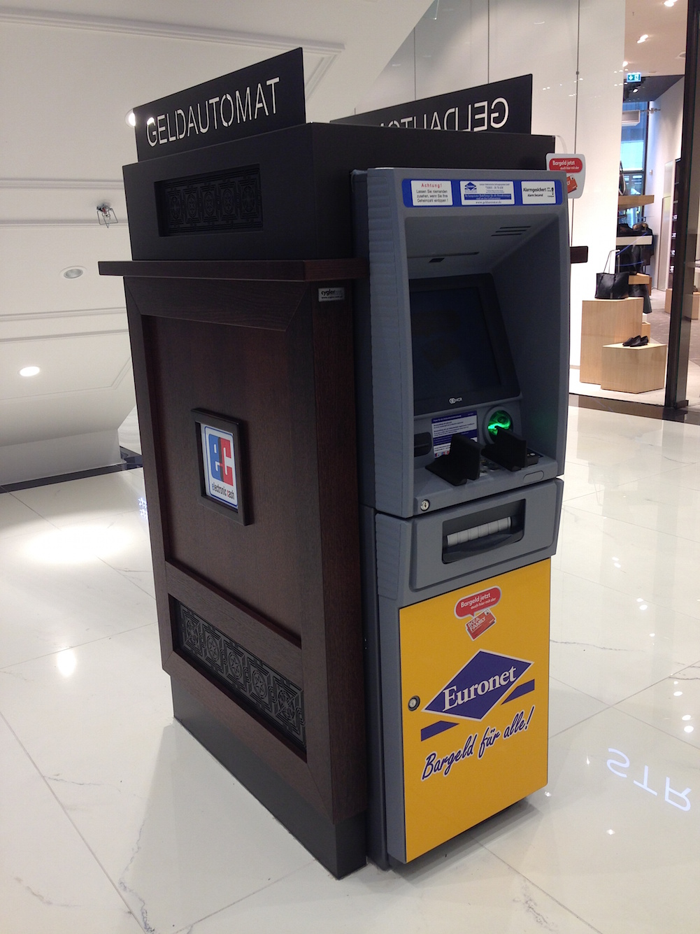 Geldautomat Comdirect