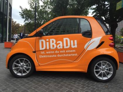 ING-DiBa DiBaDu Gewinnspiel-Elektroauto