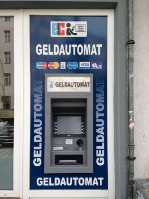 Geldautomatensuche Geldautomat