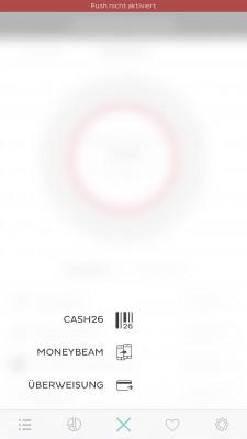 Number26 Cash26 MoneyBeam Überweisung