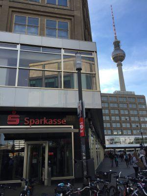 Berliner Sparkasse am Alexander Platz in Berlin