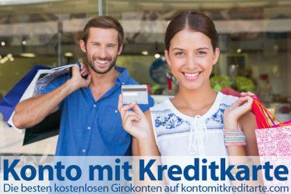 Bestes Girokonto mit Kreditkarte