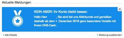 DKB-Cash neu 2016 + 2017