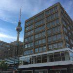 Zentrale der Berliner Sparkasse am Alex in Berlin Mitte