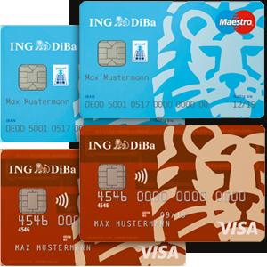 ING-DiBa Partnerkarten Gemeinschaftskonto