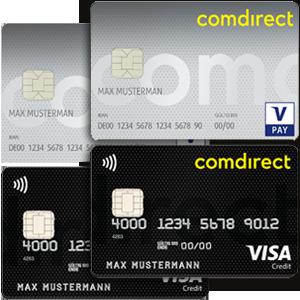 comdirect Partnerkarten Gemeinschaftskonto