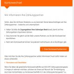 Kontowechselservice ING-DiBa Portal: Automatisierter Kontowechsel online