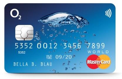 O2-Banking MasterCard Kreditkarte
