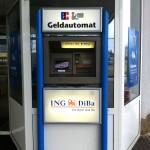 Geldautomat ING-DiBa DiBaDu Bank