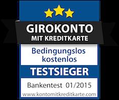 Konto mit Kreditkarte Testsieger ING-DiBa