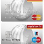 MasterCard und Maestro-Card der norisbank