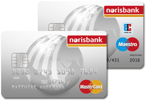 norisbank Girokonto mit Kreditkarte