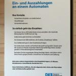 DKB-Automat Geld einzahlen