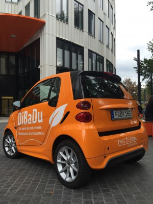 DiBaDu Bank Elektro-Smart
