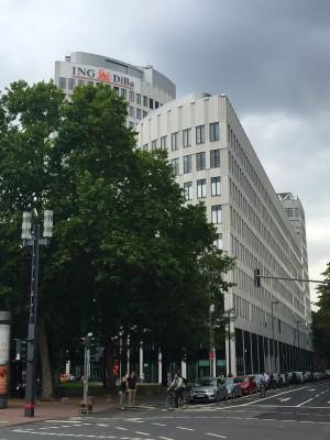 DiBaDu ING-DiBa Direktbank-Zentrale in Frankfurt