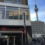 Berliner Sparkasse am Alexander Platz in Berlin