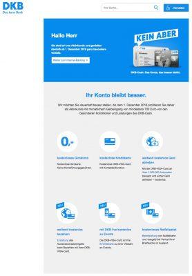 DKB-Cash Konto bleibt besser - für aktive Kunden