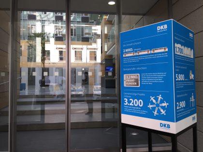 DKB Eingang Filiale