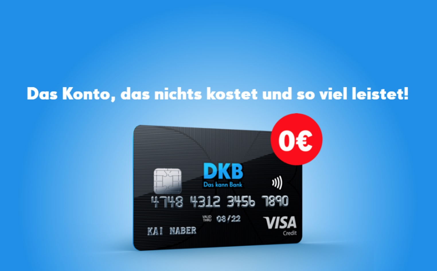 Kostenloses Konto DKB-Cash-Girokonto Deutsche Kreditbank