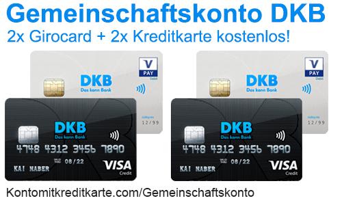 Gemeinschaftskonto DKB kostenloses DKB-Cash Girokonto