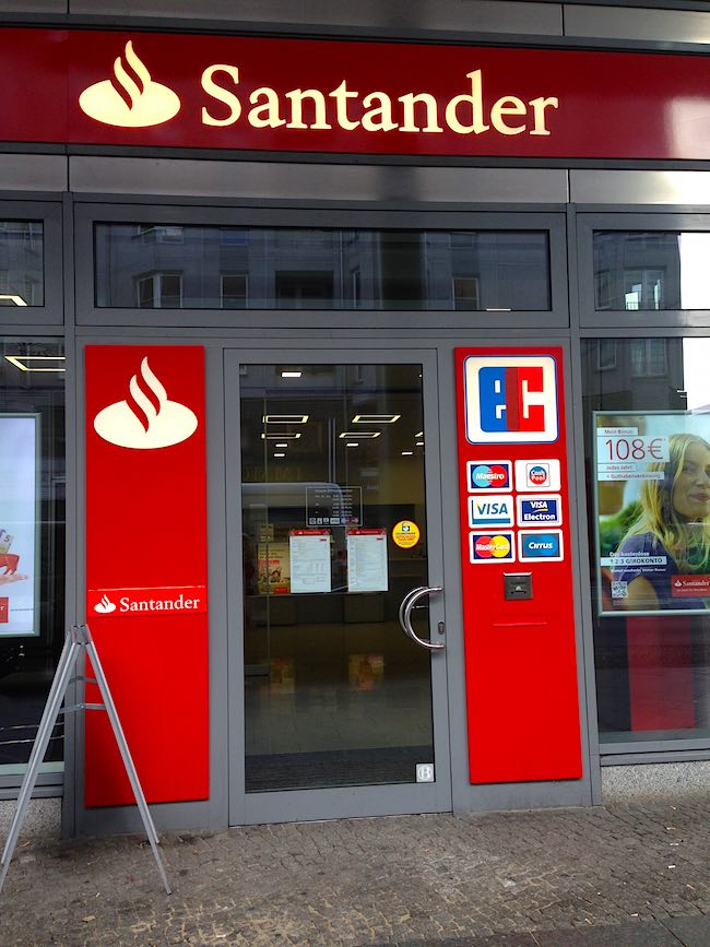 Santander Bank Augsburg