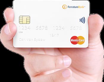 Ferratum-MasterCard Kreditkarte