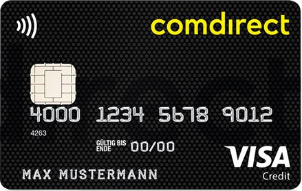 Kreditkarte Girokonto Comdirect
