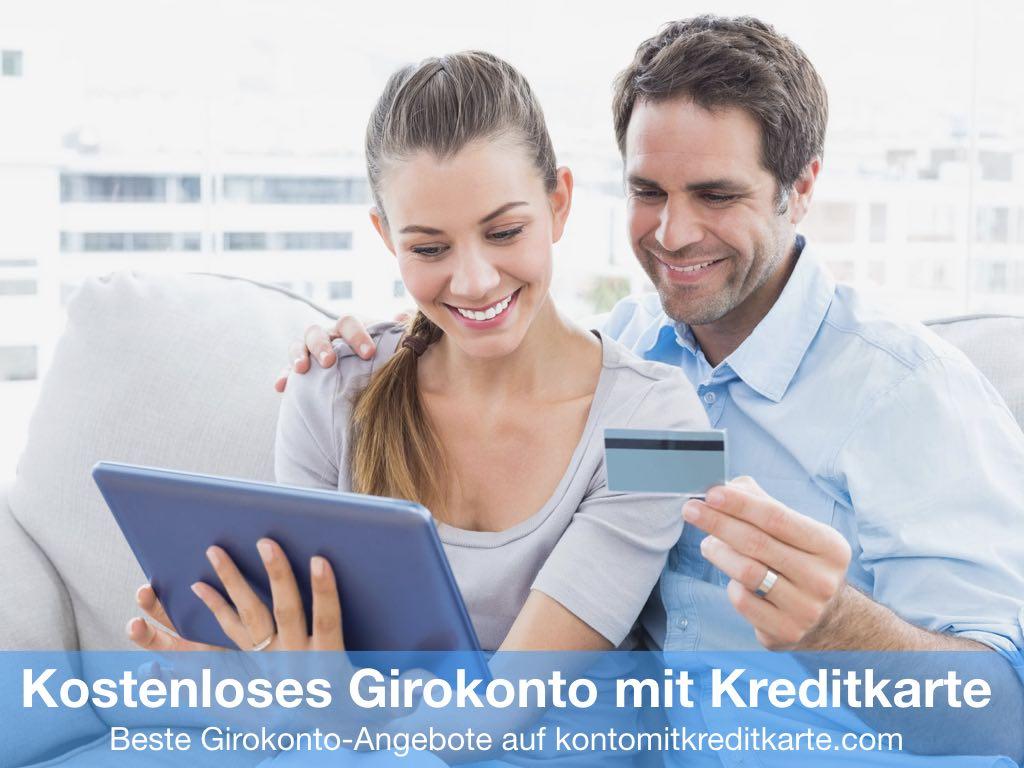 Kostenloses Girokonto mit Kreditkarte