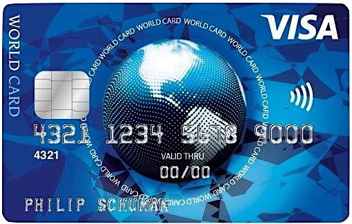 ICS Visa World Card Kreditkarte kostenlos