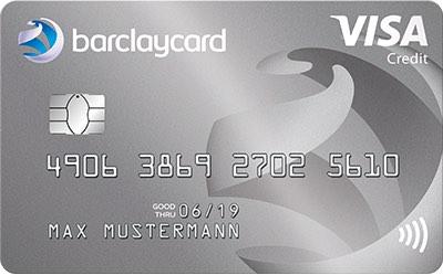 Kostenlose Kreditkarte Barclaycard New Visa