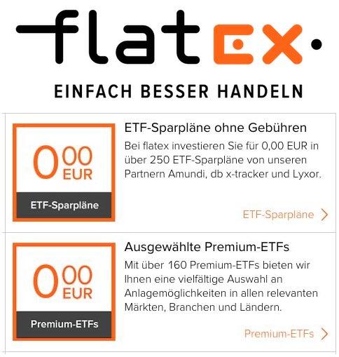 ETF-Sparplan Flatex
