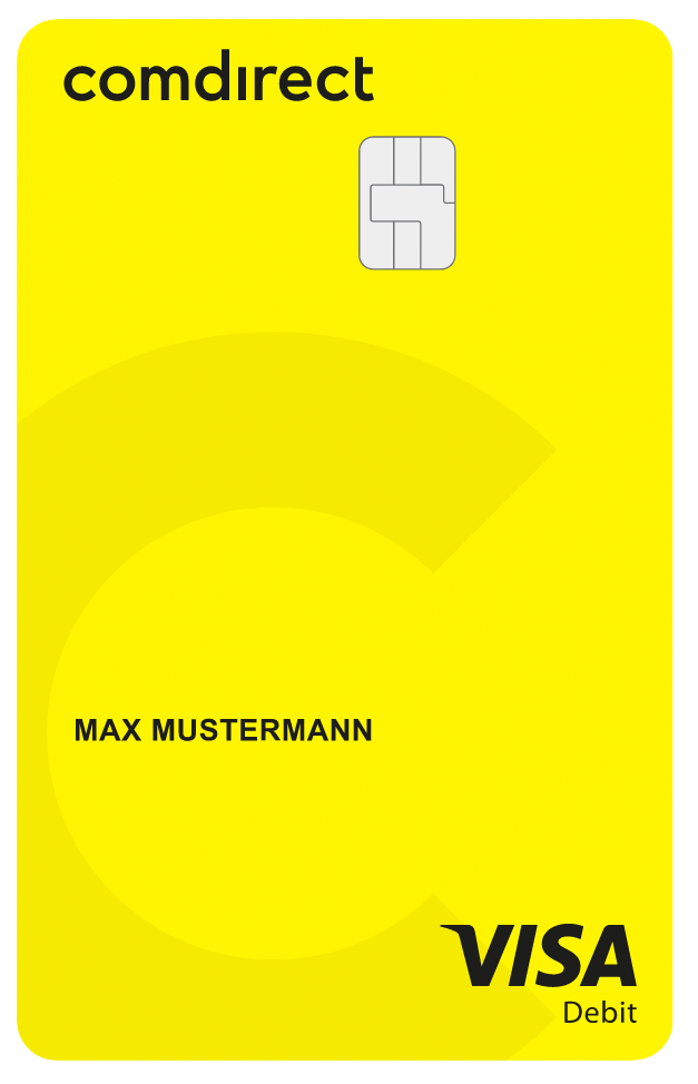 Comdirect Bankkarte Visa-Debitkarte