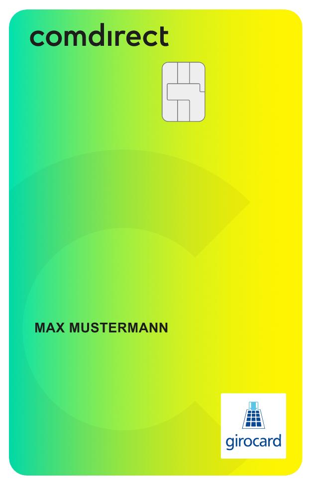 Comdirect Girocard Debitkarte