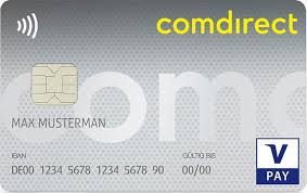Comdirect Girocard V-Pay