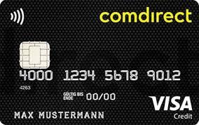 Comdirect Kreditkarte Visa